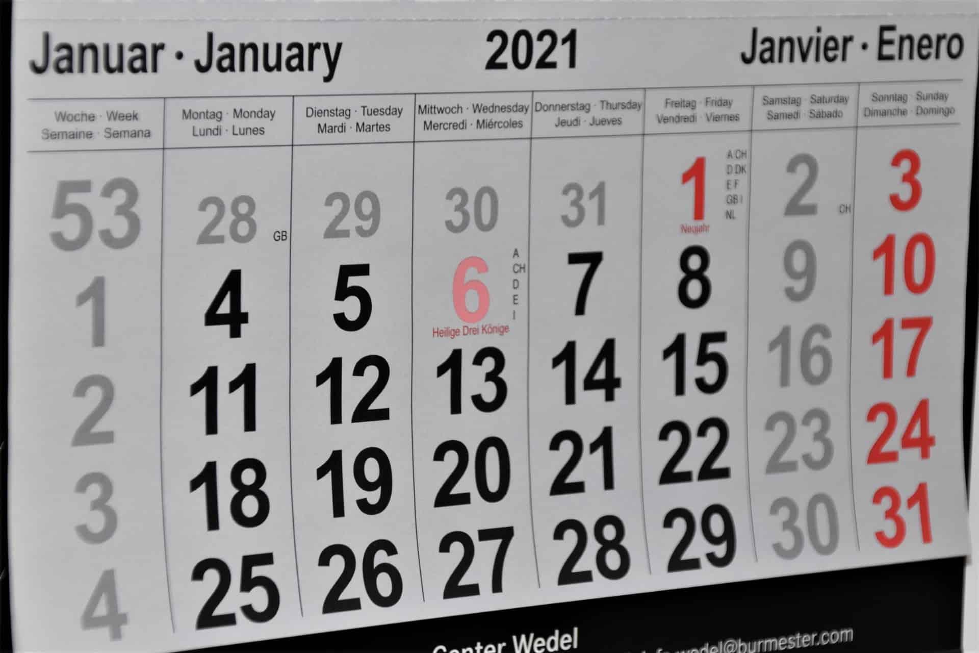 tax filing dates